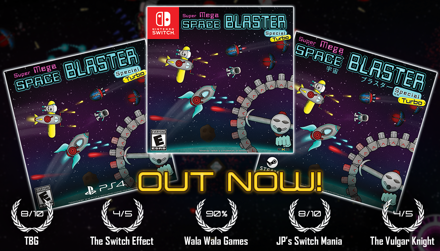 Super Mega Space Blaster Special Turbo Review Scores